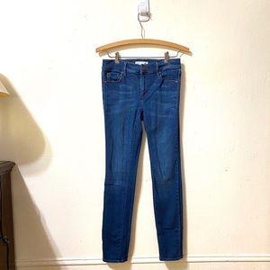 LOFT Medium Wash Skinny Jeans